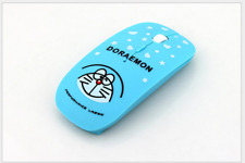 2.4GHz Mini Doraemon Mouse Blue Wireless Cartoon Optical Mouse Ultrathin 2018