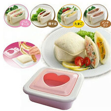 Heart Shape Sandwich Cake Toast Bread Mold Mould Cutter Maker Tool DIY Food