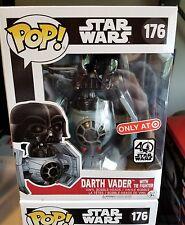 Funko POP! STAR WARS Darth Vader W/ Tie Fighter 176 Target Exclusive In Hand