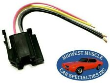 78-86 GM GMC Dash Stereo Radio Knob Power Supply Wiring Harness Plug Socket D36