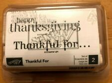 Stampin' Up! Stamp Set - Thankful For - NEW!