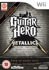 Wii-Guitar Hero: Metallica (SOLUS) /Wii GAME NEW