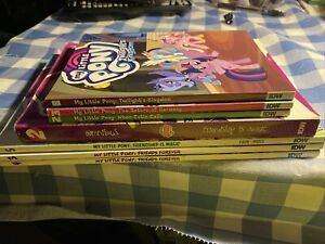 My Little Pony Lot Of 7 Graphic Novels