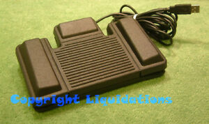 Philips LFH 6212/00 USB Foot Control Pedal Switch-Digital Transcription [Toggle]