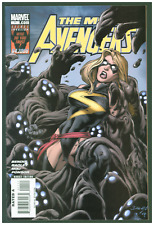 Mighty Avengers #11 VF/NM Marvel Comics 2008 Ms. Marvel Cover
