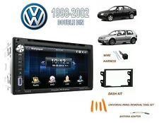 1998-2002 VOLKSWAGEN GOLF GTI JETTA PASSAT Stereo Kit, BLUETOOTH TOUCHSCREEN DVD