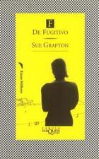 F de fugitivo (Fabula (Tusquets Editores)) (Spanish Edition)-ExLibrary
