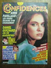 CONFIDENCES 1938 (25/1/85) ANNE PARILLAUD JOAN COLLINS