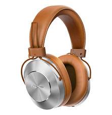 Pioneer Se-ms7bt Bluetooth Wireless Around Ear Headphones Brown