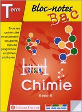 Collectif - Bloc-notes : Chimie, terminale, Bac S - 2002 - poche