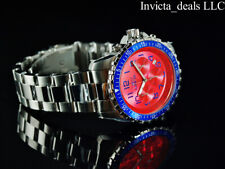 NEW Invicta Men's 45mm PILOT Specialty Chronograph BLOODY MARY Dial Silver Watch