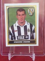 Zinedine Zidane Juventus Calciatori Calcio 2001 Merlin Sticker