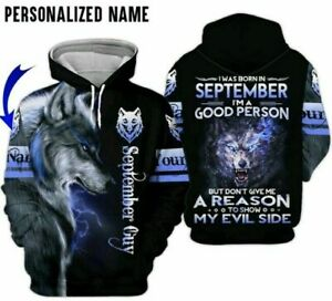 Personalized Name September Guy Gift 3D Hoodie All Over Print