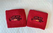 2x Mugen Style Red Reservoir Tank Cover Socks Civic EP3 EK9 B18 Integra DC5 DC2