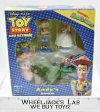 Toy Story and Beyond Adventures in Andy's Room 2002 MISB Hasbro