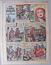 Lone Ranger Sunday Page by Fran Striker and Charles Flanders from 4/25/1943