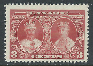 Canada #213(2) 1937 3 cent carmine KING GEORGE V & QUEEN MARY MNH