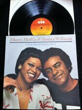 Johnny Mathis & Deniece Williams - That's What Friends Are For Vinyl LP CBS 1978