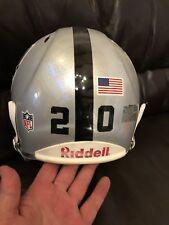 Darren McFadden autographed Game Helmet Used Practise Oakland Raiders Rare