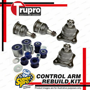 4 Ball Joint + Bush Control Arm Rebuild Kit for ROVER 2000 3500 Coil Spring susp