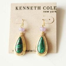 New Kenneth Cole Malachite Teardrop Dangle Earrings Gift Fashion Women Jewelry