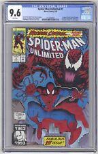 Spider-Man Unlimited #1 CGC 9.6 HIGH GRADE Marvel KEY 1st Shriek, Max Carnage