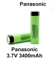 2x Genuine Panasonic  NCR18650B 18650 3400mAh Rechargeable Battery Li-ion Vape//