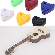 5pcs Guitar Accessories Plectrum Heart Shaped Pick Holder Box Musical Instrument