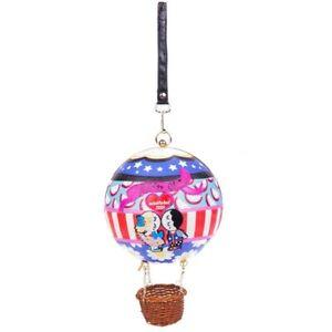 New Irregular Choice Up, Up & Away Hot Air Balloon 20 Year Anniversary Handbag