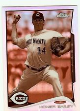 2014 Topps Chrome Sepia Refractor #118 Homer Bailey Reds 67/75