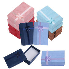 5Pcs High Quality Necklace Bracelet Ring Set Small Jewelery Gift Boxes Bag
