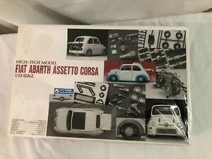 NIB SEALED 1/24 scale model KIT GUNZE SANGYO Fiat Abarth Assetto Corsa