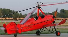 PA-18 Pitcairn Sport Autogyro Helicopter Wood Model Replica Small Free Shipping