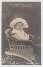 Rppc Friedrich Franz Mecklenburg-Schwerin c. 1912 Hereditary Grand Duke