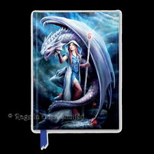 *DRAGON MAGE* Anne Stokes Embossed Foiled Hardback Lined Journal / Notebook