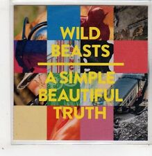 (GB598) Wild Beasts, A Simple Beautiful Truth - 2014 DJ CD