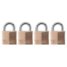 Master Lock 140Q Solid Brass Keyed Alike Padlock with 1-9/16-inch Wide Body and