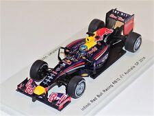 1:43 Spark Renault RB10 Infiniti Red Bull #1 Sebastian Vettel 2014 Australia GP