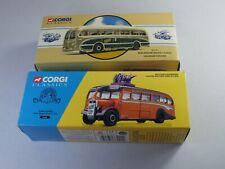 2 x Corgi Classics Burlingham Seagull & Finglands Coaches - Boxed