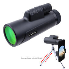Monocular Telescope, 12X50 High Power Prism Monocular with Smartphone Holder