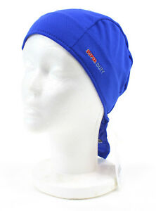 Headsweats Super Duty Shorty Cycling Beanie and Helmet Liner, Royal Blue