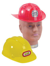 #CONSTRUCTION CHILD HELMET FANCY DRESS PARTY ACCESSORY ONE SIZE