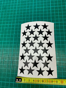 1 sheet of stars selfadhesive  stickers sm you choose the colour a6size free P&P