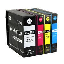 4 Cartuchos de Tinta PGI-2500XL Para Canon MAXIFY IB4050 MB5050 MB5351 Non Oem