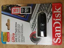 SanDisk 16GB Cruzer Ultra USB 3.0 100MB/s Flash Thumb Pen Drive SDCZ48-016G-U46
