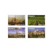 """CARNET """"LA FRANCE EN TIMBRE"""" BC329 LETTRE 20G MONDE"""