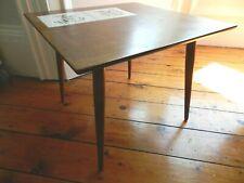 Vintage Tiled Coffee Side Table Retro Mid Century