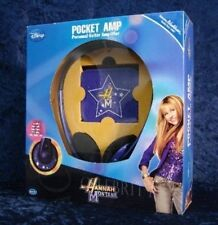 HANNAH MONTANA MINI POCKET GUITAR AMP + HEADPHONES FROM DISNEY and WASHBURN