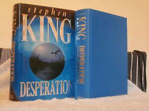 STEPHEN KING DESPERATION 1ST ED 6TH PRINTING U.K  HB GC