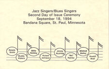 #2854 2nd Day Program 29c Bessie Smith Stamp